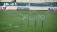 Mặt cỏ sẵn sàng, Sông Lam Nghệ An sẽ được đá trên sân Vinh