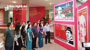 Khai mạc triển lãm Tranh cổ động chào mừng Kỷ niệm 130 năm ngày sinh Chủ tịch Hồ Chí Minh