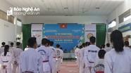 65 võ sỹ tham gia kỳ thi thăng đẳng Taekwondo quốc gia tại Nghệ An