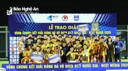 Sông Lam Nghệ An nối dài kỷ lục vô địch giải U17 Quốc gia