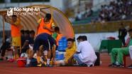 Tuyển thủ U22 Việt Nam của SLNA sớm chia tay V.League 2020 vì chấn thương
