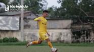 Cầu thủ SLNA tự tin trước trận đấu trụ hạng gặp Quảng Nam