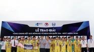 Thua luân lưu, SLNA thành cựu vô địch tại Bán kết U15 Quốc gia 2020