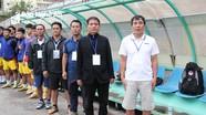 HLV trưởng U21 SLNA: 'Đã vào đến chung kết thì không ngại gì nữa'