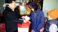 Nhiều đơn vị, địa phương tặng quà Tết người nghèo Xuân Mậu Tuất