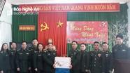 BĐBP Nghệ An tặng 110 suất quà Tết tại xã biên giới Tri Lễ