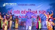 Đêm biểu diễn dân ca xứ Nghệ ở Đền Quả Sơn