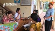 300 người cao tuổi ở Quế Phong được khám, phát thuốc miễn phí