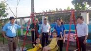 Yên Thành: Đoàn xã xây dựng khu vui chơi cho thiếu nhi