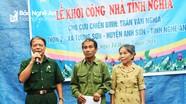 Khởi công nhà nghĩa tình cho cựu binh nghèo ở Anh Sơn