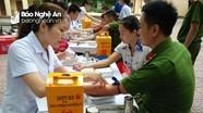 Hơn 1.000 người tham gia hiến máu tình nguyện ở Tân Kỳ