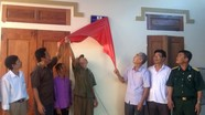 Bàn giao nhà tình nghĩa cho hội viên CCB ở Thị xã Hoàng Mai