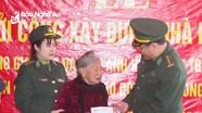 Khởi công xây dựng nhà cho gia đình Anh hùng LLVT Trần Văn Trí