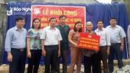 Hoạt động thiết thực hỗ trợ người nghèo ở các địa phương