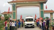 Nghi Lộc đón nhận hài cốt liệt sỹ về an táng tại quê nhà