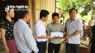 Thăm hỏi, hỗ trợ gia đình có 2 con đuối nước ở Quỳ Châu