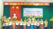 Nhiều hoạt động hỗ trợ học sinh nghèo ở Nghệ An