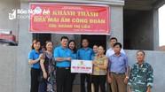 Liên đoàn Lao động tỉnh trao nhà 'Mái ấm công đoàn' cho đoàn viên khó khăn