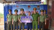 Công an Nghệ An bàn giao nhà tình nghĩa và khu bán trú cho học sinh tại Kỳ Sơn