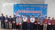 Chi cục Thủy sản Nghệ An phối hợp Hải quân hỗ trợ ngư dân vươn khơi, bám biển