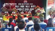 Đại hội đại biểu Đảng bộ xã Diễn Tháp (Diễn Châu) nhiệm kỳ 2020 - 2025