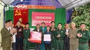Bộ CHQS tỉnh bàn giao nhà tình nghĩa cho nạn nhân nhiễm chất độc da cam ở Đô Lương
