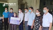 Đảng bộ khối Doanh nghiệp tỉnh trao 2 căn nhà tình nghĩa tại huyện Hưng Nguyên