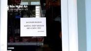 Huyện miền núi Nghệ An dán thông báo 'không tiếp khách đến chúc Tết'