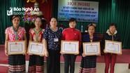 Con Cuông thành lập 85 câu lạc bộ xây dựng gia đình hạnh phúc bền vững
