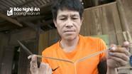'Bí kíp' chế mũi tên của 'đại xạ thủ' người Thái Nghệ An