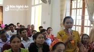 Trang bị cho phụ nữ vùng cao kiến thức di cư an toàn và phòng, chống mua bán người