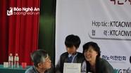 Trao học bổng cho 40 học sinh nghèo Con Cuông