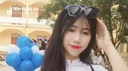 Hot girl có điểm thi khối C cao nhất huyện Con Cuông
