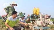 """Nông dân Nghệ An tự sáng chế máy cày đất mini """"3 trong 1"""""""