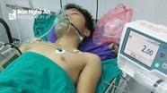 Nam thanh niên Nghệ An bị thang máy cán nát chân khi cứu bé trai 5 tuổi
