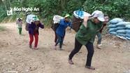Người dân bản Thái ở Tương Dương góp 1.000 ngày công để làm đường