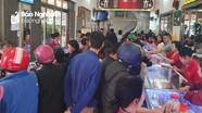 Giá vàng lập đỉnh, người dân Nghệ An đổ xô đi bán