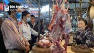 Nghệ An: Thịt trâu, bò ế ẩm dù bệnh viêm da nổi cục không lây sang người