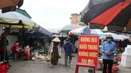 Chợ dân sinh thắt chặt biện pháp chống dịch Covid-9 khi Nghệ An có 77 F1