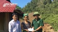 Hỗ trợ 3 gia đình bị thiệt hại do lốc xoáy