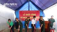 Trao 70 triệu đồng hỗ trợ xây nhà đồng đội ở Nghi Lộc