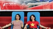 Hơn 1.000 người tham gia hiến máu tình nguyện ở Nghi Lộc