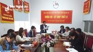 Sẽ thành lập Chi hội nhà báo Thường trú trực thuộc Hội Nhà báo Việt Nam tỉnh Nghệ An