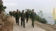 Bộ Tư lệnh Quân khu 4 kiểm tra các đơn vị Đảo Mắt, Đảo Ngư