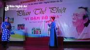 Tri ân nhà văn, nghệ nhân ưu tú Phan Thế Phiệt