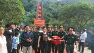 Bộ CHQS tỉnh Nghệ An bàn giao và an táng hài cốt liệt sỹ tại nghĩa trang Mộc Châu