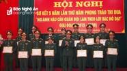 Bộ Chỉ huy Quân sự tỉnh Nghệ An tặng thưởng 30 cá nhân, tập thể xuất sắc 'làm theo lời Bác Hồ dạy'