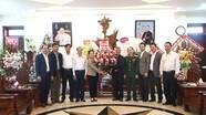 Lãnh đạo các huyện thăm, chúc mừng nhân dịp Giáng sinh 2019