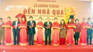 Yên Thành: Khánh thành công trình phục hồi đền Nhà Quan