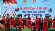 Khánh thành trụ sở Công an xã đầu tiên ở Nghệ An